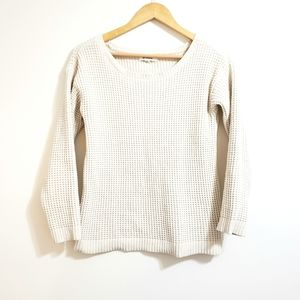BB Dakota | Waffle Knit Super Soft Sweater